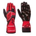 Gants Alpinestars Tech 1-K race V2 solid rouge