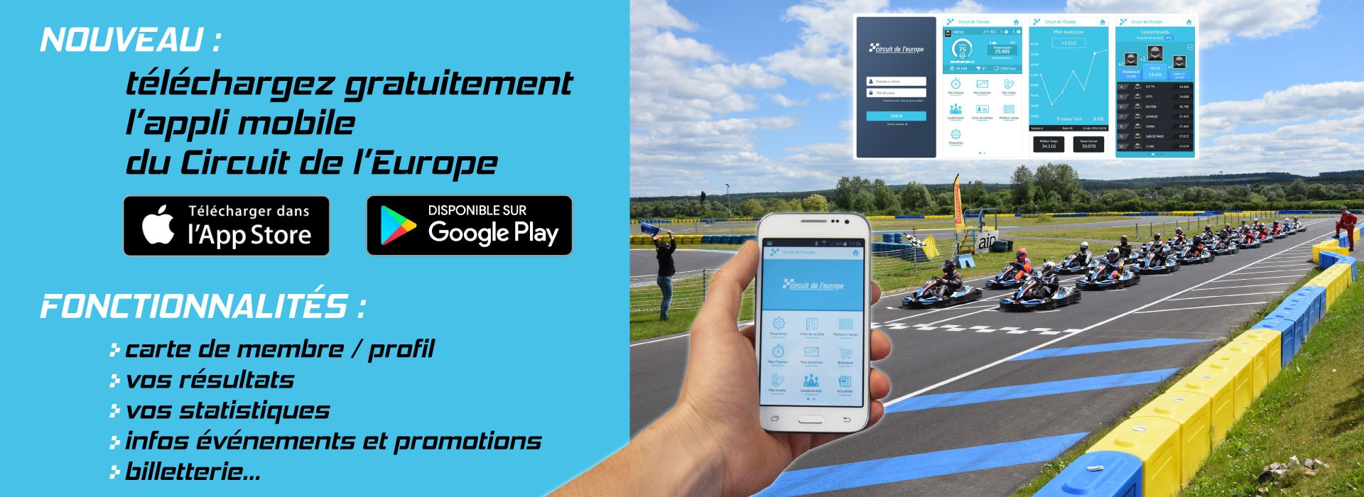 Téléchargez l'application mobile